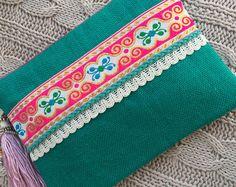 Bohemian Clutch ethnic clutch boho bag clutch purse women