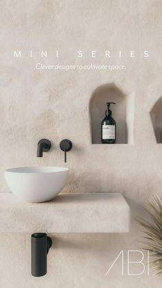 Bathroom Inspo, Bathroom Styling, Bathroom Interior Design, Modern Interior Design, Interior Decorating, Internal Sliding Doors, Home Entrance Decor, Tiny House Cabin, Bathroom Renos