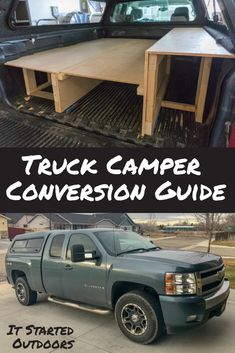 If you are looking for a camping setup that maximizes your ability to go anywhere on a whim the camper shell conversion is something you want to consider | Camper Shell | How To Guide | What Materials to Use | Design Ideas | Storage Ideas | Our Set Up | Truck Camper | Camping | Idaho Camping | It Started Outdoors