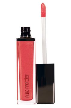 This creamy coral liquid lip color is going to be a summer beauty staple | Laura Mercier.