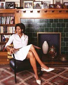 #Flotus #FirstLadyMichelleObama #MichelleObama In Their Home In #Chicago
