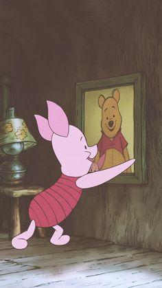 Your source for all things Winnie the Pooh since Winnie The Pooh Cartoon, Winnie The Pooh Drawing, Piglet Winnie The Pooh, Winne The Pooh, Winnie The Pooh Quotes, Eeyore, Disney Kunst, Disney Art, Walt Disney