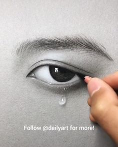 # drawing eyes Would you try? Rate from Great art by ID: (Döuyin App) 3d Art Drawing, Girl Drawing Sketches, Art Drawings Sketches Simple, Drawing Eyes, Pencil Art Drawings, Realistic Drawings, Sketch Art, Sketch Painting, Sketches Of Eyes