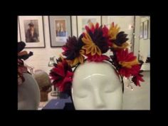Prudence Millinery making hats for Vivienne Westwood Gold Label SS 2014 - YouTube