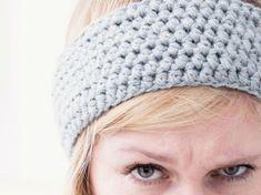 Tutorial fai da te: Come fare una fascia per capelli all'uncinetto con filato di canapa via DaWanda.com