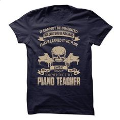Proud Be A Piano Teacher - #muscle tee #black tshirt. PURCHASE NOW => https://www.sunfrog.com/No-Category/Proud-Be-A-Piano-Teacher.html?68278