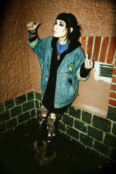 Punk grunge casual