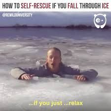 How to self-rescue if you fall through ice by Rewild University Off Grid Survival, Bored Panda, Life Hacks, Self, Movie Posters, Movies, Facebook, Videos, Films