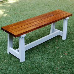 This pine slat bench is easy to make and you can finish in your choice of wood tint and paint colour. Buy all your supplies at your nearest Builder store.