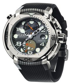 Clerc Hydroscaph L.E. Central Chronograph CHY-157 Cool Watches cb505dd64e