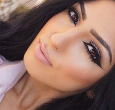 Love this eye makeup Casual Makeup, Sexy Makeup, Glamorous Makeup, Gorgeous Makeup, Makeup Geek, Love Makeup, Beauty Makeup, Hair Makeup, Hair Beauty