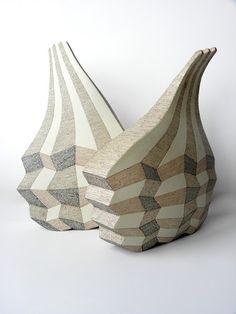 "Pinar Baklan Önal, ""The Optical Figures"" Abstract Sculpture, Sculpture Art, Sculptures, Contemporary Artwork, Contemporary Artists, Ceramic Design, Wood Glass, Ceramic Artists, Metal"