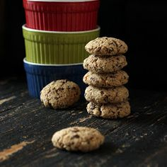 Vegan Richa: Oat Almond Chocolate Chunk Cookies and Cookie Mix in a Jar. Glutenfree Oilfree Vegan recipe