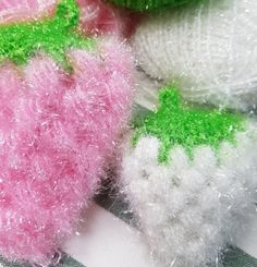 포도 수세미 & 딸기 수세미 코바늘뜨기 : 네이버 블로그 Chrochet, Knit Crochet, Decoration, Holiday Crafts, Bubbles, Diy Crafts, Knitting, Inspiration, Cupcakes