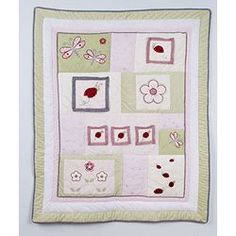 $52.49-$83.80 Baby Lady Bug - Quilt - NA http://www.amazon.com/dp/B000LON0CA/?tag=pin2baby-20