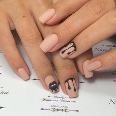 маникюр - дизайн ногтей Disney Acrylic Nails, Best Acrylic Nails, Cute Acrylic Nails, Matte Nails, Fall Gel Nails, Manicure, Sugar Nails, Art Simple, Fire Nails