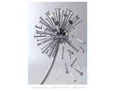 Dandelion of screws by A. Kutscheraer - desktop wallpaper 1280 x 1024 pixels