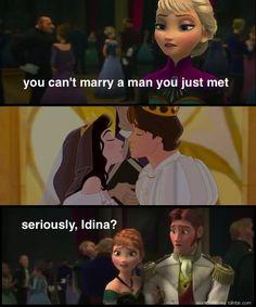 Idina Menzel's hypocrisy: | 31 Things Only True Disney Fans Will Appreciate