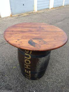 Barrel Table For Pub, Garden, Wine bar