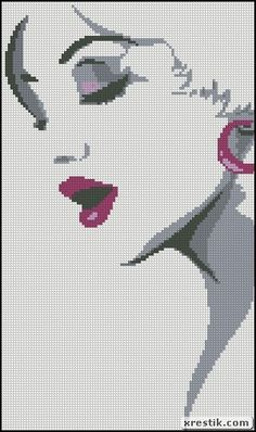 Girl 6 Download scheme embroidery girl