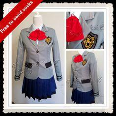 >> Click to Buy << plus size tokyo ghoul costume anime cosplay clothes Kirishima Touka japanese school uniform skirt for girls Send socks #Affiliate