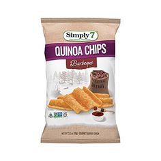 Simply7 Quinoa Chips Gluten Free Barbeque 35 Ounce Pack of 12 -- You can get additional details at the image link.