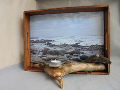 "Wanddeko - 3D-Bild ""Meeresbrandung"" - ein Designerstück von Wurzelkoenigin bei DaWanda"