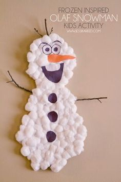 10 Snowman Art Projects for Cold Wintry Afternoons   Our Little ...