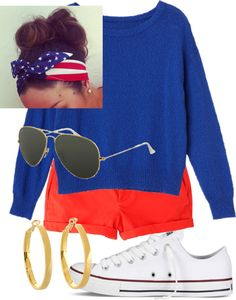 perfect 4th of July outfit especially since it always rains that day