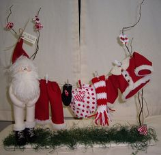 Papai Noel Peladinho by Atelier Eu & Voce by Andrea Malheiros, via Flickr