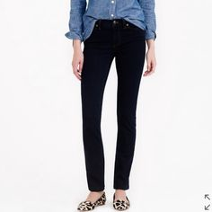 NWT J.CREW Reid Cone Denim Jeans in Dark Resin Brand new with tags. Size 30 TALL. J. Crew Jeans