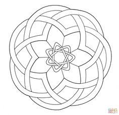 Celtic Knotwork Design | Super Coloring