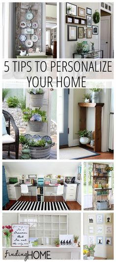 Decorating Ideas: 5 Simple tips to personalize your home with Finding Home