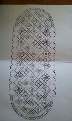 Bolso Más Bobbin Lace Patterns, Weaving Patterns, Knitting Patterns, Lace Bag, Bobbin Lacemaking, Crochet Curtains, Point Lace, Lace Jewelry, Needle Lace