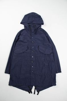 Engineered Garments Bedford Jacket Navy 6 5 Oz Flat Twill