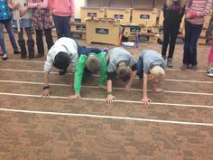 Treble in the Classroom: Staff Twister Mania. Note reading kinesthetic review idea for music class.