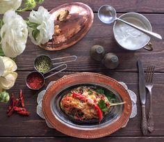 PIPER NIGRUM: Eggplant Papucaki