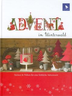 A D V E N T - cross stitch, dolls, Christmas decor Gallery.ru / Los-ku-tik - Альбом Advent im Winterwald Swedish Christmas, Christmas Cross, Christmas Holidays, Christmas Decorations, Christmas Ornaments, Cross Stitch Magazines, Cross Stitch Books, Christmas Sewing, Christmas Embroidery