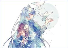 Anime Couples Drawings, Couple Drawings, Anime Crossover, Ensemble Stars, Manga Characters, Pretty Art, Asian Art, Character Inspiration, Watercolor Art