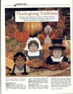 THANKSGIVING MAGNETS 1/2