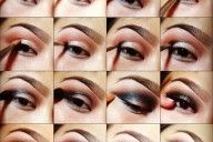 Follow these steps to create a cute and light smokey eye.