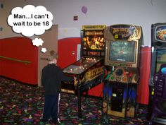 In South Carolina, it's illegal to play pinball if you are under the age of 18! #FunnyLawFriday