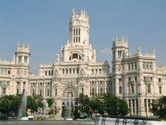 Palacio de Cibeles - Ayuntamiento - Antiguo Palacio de Telecomunicaciones