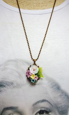 Hey, I found this really awesome Etsy listing at https://www.etsy.com/listing/210510467/colorful-pendant-necklace-ceramic-flower