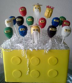 Hey, I found this really awesome Etsy listing at https://www.etsy.com/listing/128682104/ninja-cake-pops-ninja-birthday-party