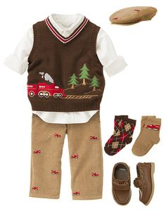 Outfit for the little man.