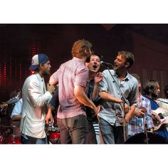 From Gentlemen of the Road in Simcoe Ontario. Hey Rosetta!'s Tim Baker, Dan Mangan, and Alex Ebert from Edward Sharpe and the Magnetic Zeros. Oh, and Marcus Mumford.