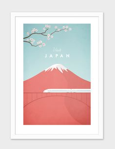 """""""Japan"""", Numbered Edition Fine Art Print by Henry Rivers - From $25.00 - Curioos"""