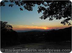Sonnenuntergang im Markgräflerland – Juli