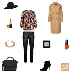 Casual Outfit: Black Leather & Camel Coat. Mehr zum Outfit unter: http://www.3compliments.de/outfit-2015-10-09-a#outfit2